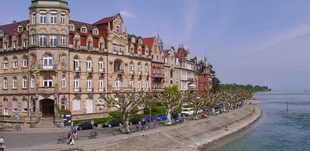 Seestrasse Konstanz am Bodensee